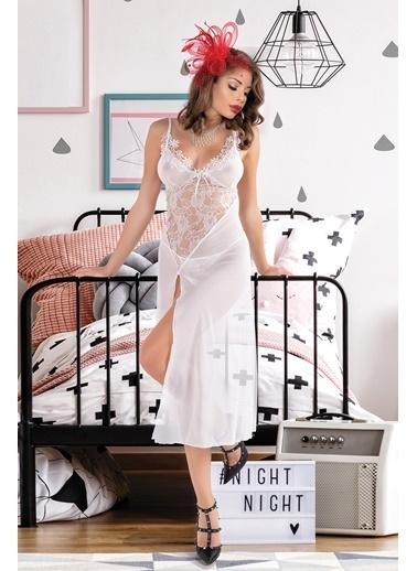 Miorre Gecelik Beyaz
